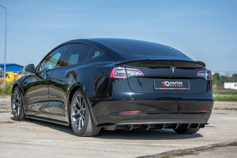 Becquet extension Tesla Model 3 | Notre Offre \ Tesla ...