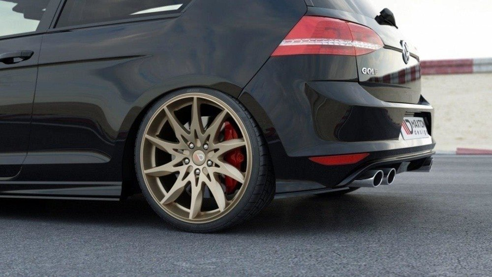 LAME DU PARE CHOCS ARRIERE VW GOLF VII R