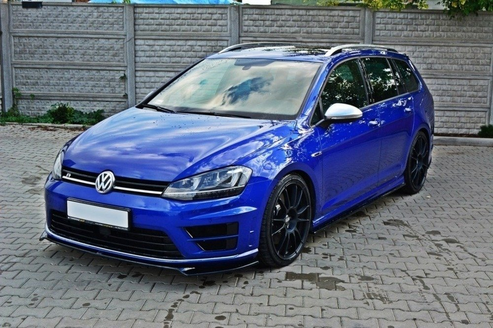 LAME DU PARE-CHOCS AVANT VW GOLF MK7 R