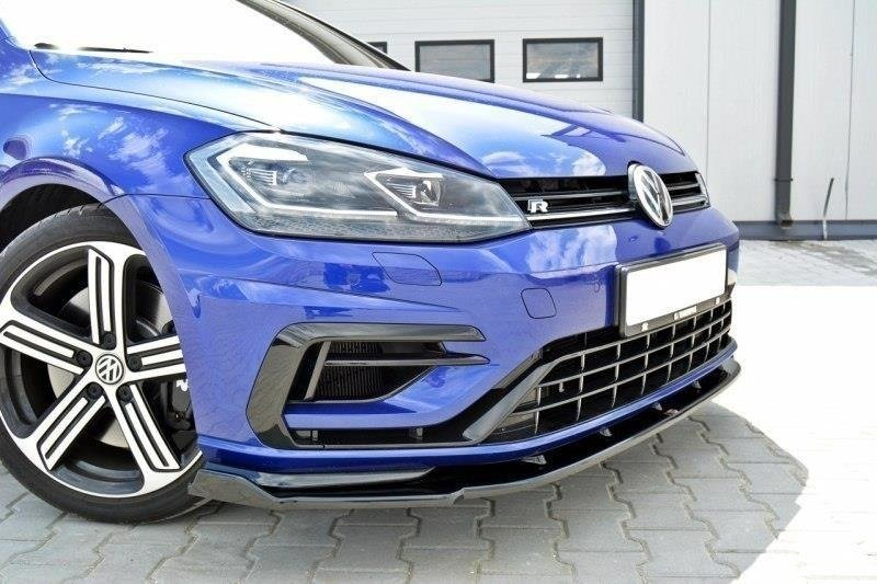 LAME DU PARE-CHOCS AVANT v.1 VW GOLF VII R (APRES FACELIFT)