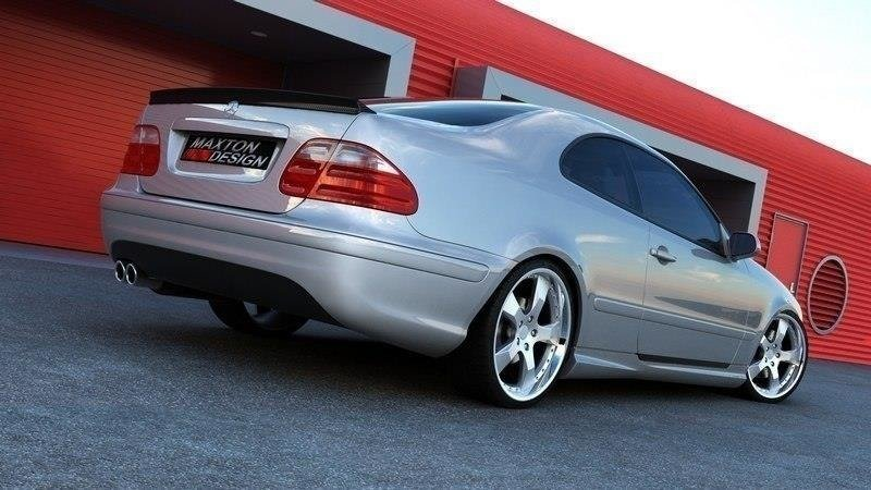 PARE CHOCS ARRIERE MERCEDES CLK W208 AMG LOOK